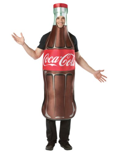 one size - Coca-Cola Bottle Adult Costume