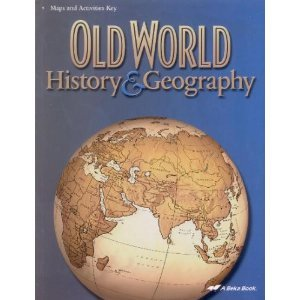 Image for Old World History and Geography Maps and Activities Key (A Beka History and Geography, Grade 5, No. 61379)