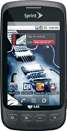 LG Optimus S Android Phone, Gray (Sprint)