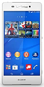 Sony Xperia Z3v, White 32GB (Verizon Wireless)