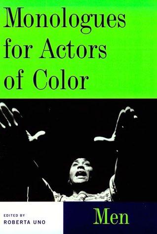 Image for Monologues for Actors of Color: Men (Theatre Arts (Routledge Paperback))