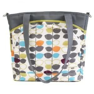 Laminated canvas 100% polyfill JJ Cole Mode Diaper Tote Bag changing pad included - Mixed Leaf Nourrisson, Bébé, Enfant, Petit, Tout-Petits