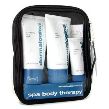 Spa Body Therapy Kit: Body Wash+ Body Hydrating Cream+ Body Scrub