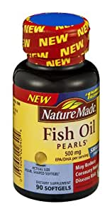 Nature made fish pearls dietary supplement for Nature made fish oil pearls