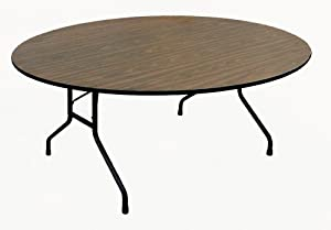 "Correll High-Pressure Laminate Top Table | Office 48"" Round Table"