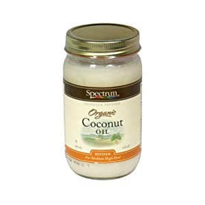 Spectrum Organic Refined Coconut Oil, 14 Ounce -- 12 per case.