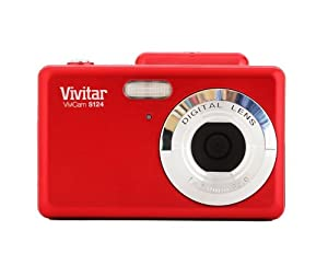 Vivitar 16MP Camera with 2.4-Inch TFT Panel (VS124-RED-FR)