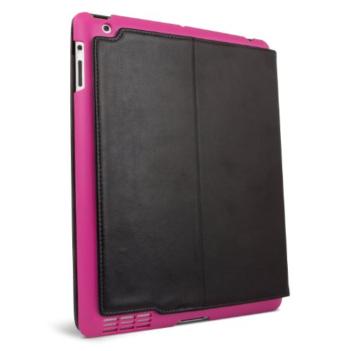 iFrogz Summit Case for iPad 2 - Black with Pink Snap-On Shell (IPAD2-SUM-PNK)