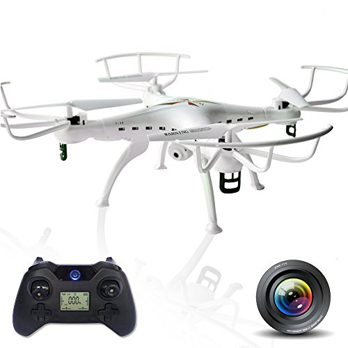 Quadcopter Drone with 6 Axis Gyro RC and 2MP HD Camera