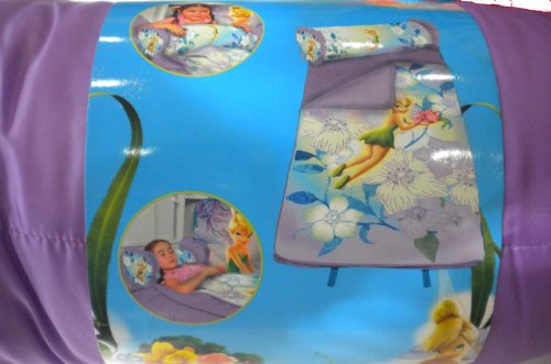 Disney Fairies Tinkerbell Nap Mat 2 in 1 Combo