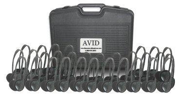 Avid 30Cpae711Black 2 H X 5 W Classroom Pack 30 Piece