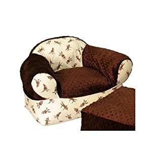 Monkey Business Overstuffed Chair from Ozark Mountain Kids