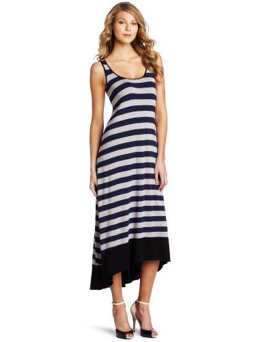 Kensie Women's Jersey Striped Maxi Dress
