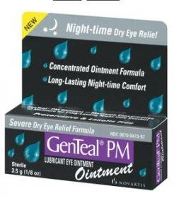 GenTeal PM Lubricant Eye Ointment for Night-Time & Severe Dry Eye 3.5 Gm