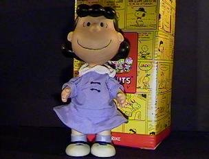 QPC4018 Lucy LE Hallmark Peanuts Gallery Porcelain Jointed Figurine