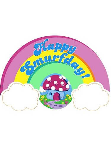 Smurfs Birthday Banner (Each) - 1