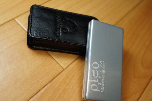 Headamp Pico Slim Usb Chargable Portable Headphone Amp Silver