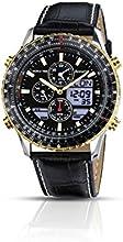 Comprar Accurist MS1031B - Reloj de cuarzo para hombres, color negro