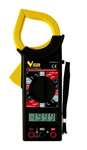 Vigor 35610-05 Pinza Amperometrica con Tester Digitale