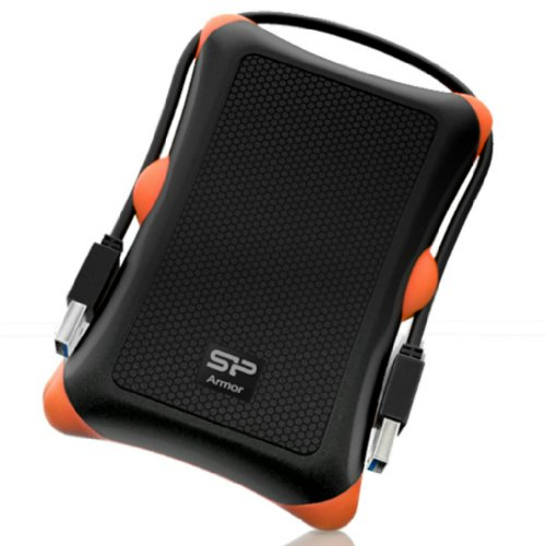Silicon Power 1TB Rugged Armor A30 Shockproof Standard 2.5-Inch USB...