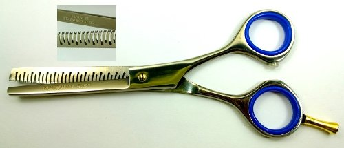 "5.5"" Professional Hair Thinning Barber Scissors Shears Magnum Wire-Cut Free Shipping & Rings"