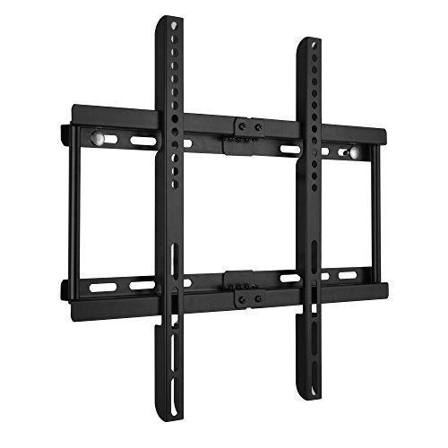 Ultra Slim TV Montaggio a parete per 23-55 Pollici (58cm-140cm) LCD LED 3D TV al Plasma spirito libero Livello Max VESA 400mm x 400mm Super Forte Capacitš€ di peso 50KG