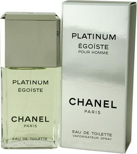 Egoiste Platinum by Chanel for Men, Eau De Toilette Spray, 3.4 Ounce