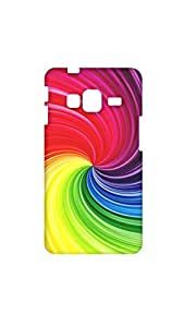 Stylish Cyclone Pattern Mobile Back Case/Cover For Samsung Galaxy ON 7