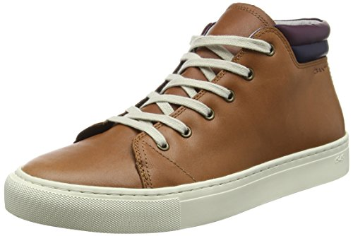 Gant - Bryant, Sneaker alte Uomo, Brown (G45 Cognac), 41