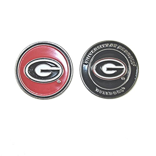 Georgia Bulldogs Double-Sided UGA Golf Ball Marker (Ga Bulldogs Belt compare prices)