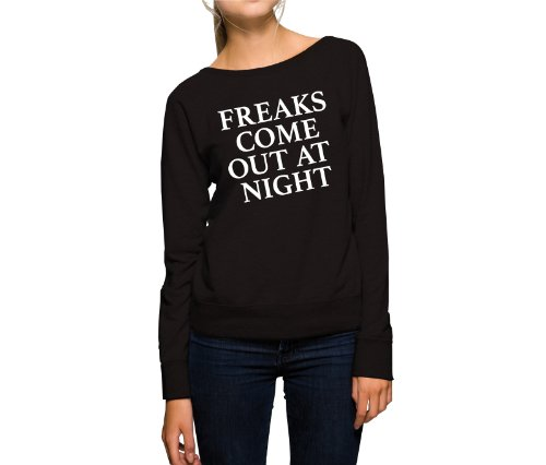 Freaks Come Out At Night Felpa Girls Nero-XL