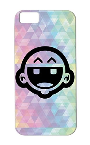 Black Baby Infant Kid Teething Child Toddler Family Cry Cute Cartoon For Iphone 5C Case