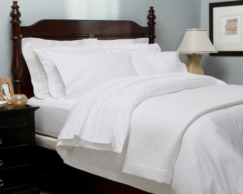 Pinzon Hemstitch 400-Thread-Count 100 Percent Egyptian Cotton Duvet Set