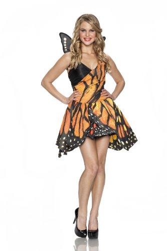 Delicious Monarch Butterfly Costume, Multi, Small