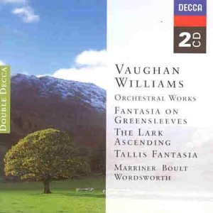 Vaughan Williams 2cd Lark Ascending Tallis Fantasia Greensleeves Variations On Dives And Lazarus from Double Decca