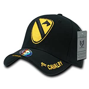 Rapiddominance 1st Cavalry The Legend Military Cap, Black