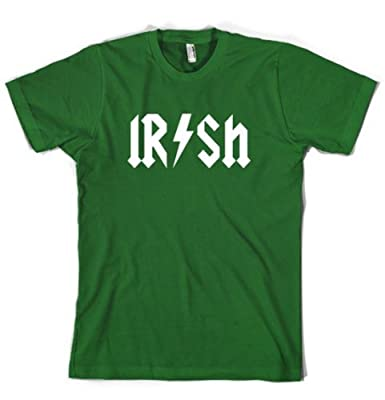 Kids Irish Rockstar Band Logo T Shirt Funny Saint Patricks Day Youth Shirt