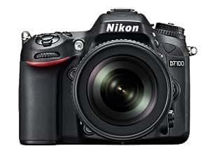 Nikon D7100 Appareil photo numérique Réflex 24,1 Mpix Kit Boîtier + Objectif AF-S DXED VR 18-105 Mm Noir