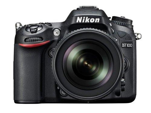 Nikon-D7100-Fotocamera-Digitale-Reflex-241-Megapixel-Display-32-Pollici-con-Obiettivo-VR-AF-S-DX-18-105-mm-135-56G-ED-Versione-EU