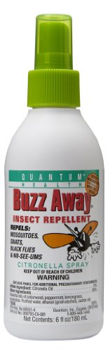 Quantum Buzz Away, Original Spray, 6-Ounce