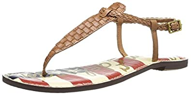 Sam Edelman Women's Gigi Dress Sandal,Saddle Woven,6 M US