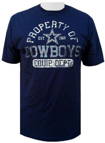 Dallas Cowboys Short Sleeve Bomber Tee by DCM (Large) - Dallas ... a4bbc9ea1