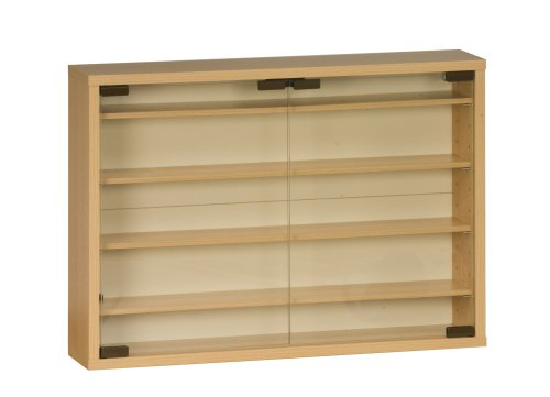 wandregal ikea buche maja 1816 f531 sammlervitrine und wandregal 60. Black Bedroom Furniture Sets. Home Design Ideas