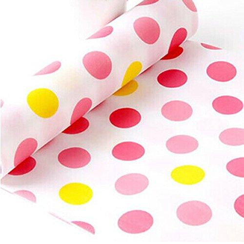 Non-Slip Moisture Proof Anti Dust Mat, Kitchen Drawer Storage Pad,Red Dot Lm-L