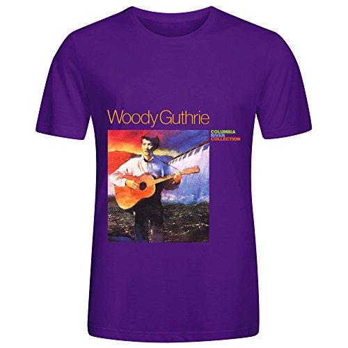 woody-guthrie-columbia-river-collection-pop-album-men-o-neck-design-shirts-purple