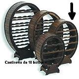 Cantinetta Portabottiglie Botte 18 posti