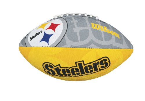 WILSON NFL Pittsburgh Steelers Junior American Football