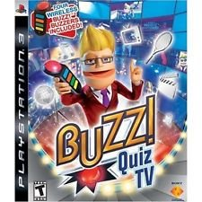 Buzz! Quiz TV for Playstation 3