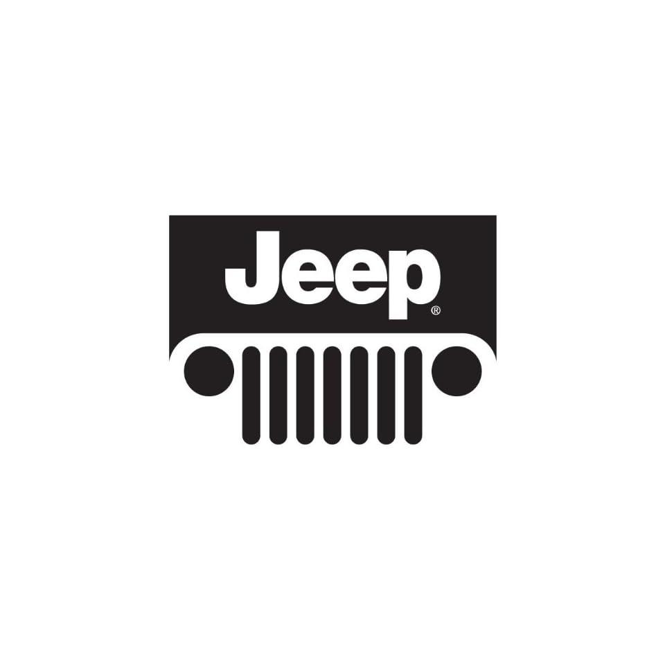 Jeep Wrangler logo vynil car sticker window decal 4 x 4