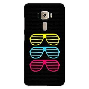 Bhishoom Asus Zenfone 3 Hard Back Case Cover - Premium Best Quality Designer Printed Mobile Phone Ultra Slim Tough Protective Case & Cover for Asus Zenfone 3 ZE552KL